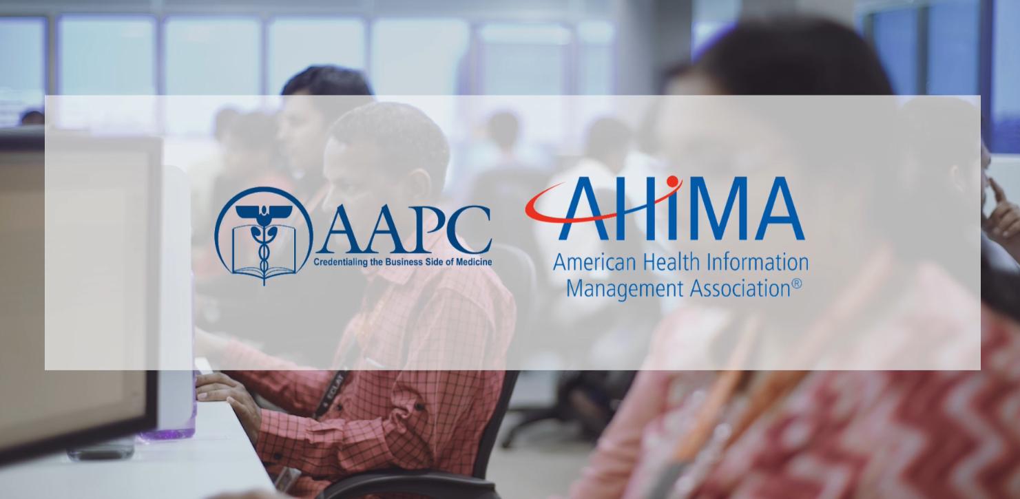 ECLAT Health Solutions AAPC AHIMAcredentialed coder